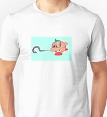 Kirby-Pudge is gonna eat u Unisex T-Shirt