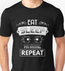 Eat Sleep Anime Repeat Shirt T-Shirt