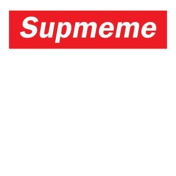 Supmeme - Supreme Logo by stevejhons