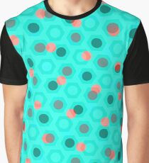 Dotted pattern Graphic T-Shirt