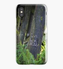 Turn Back Now iPhone Case
