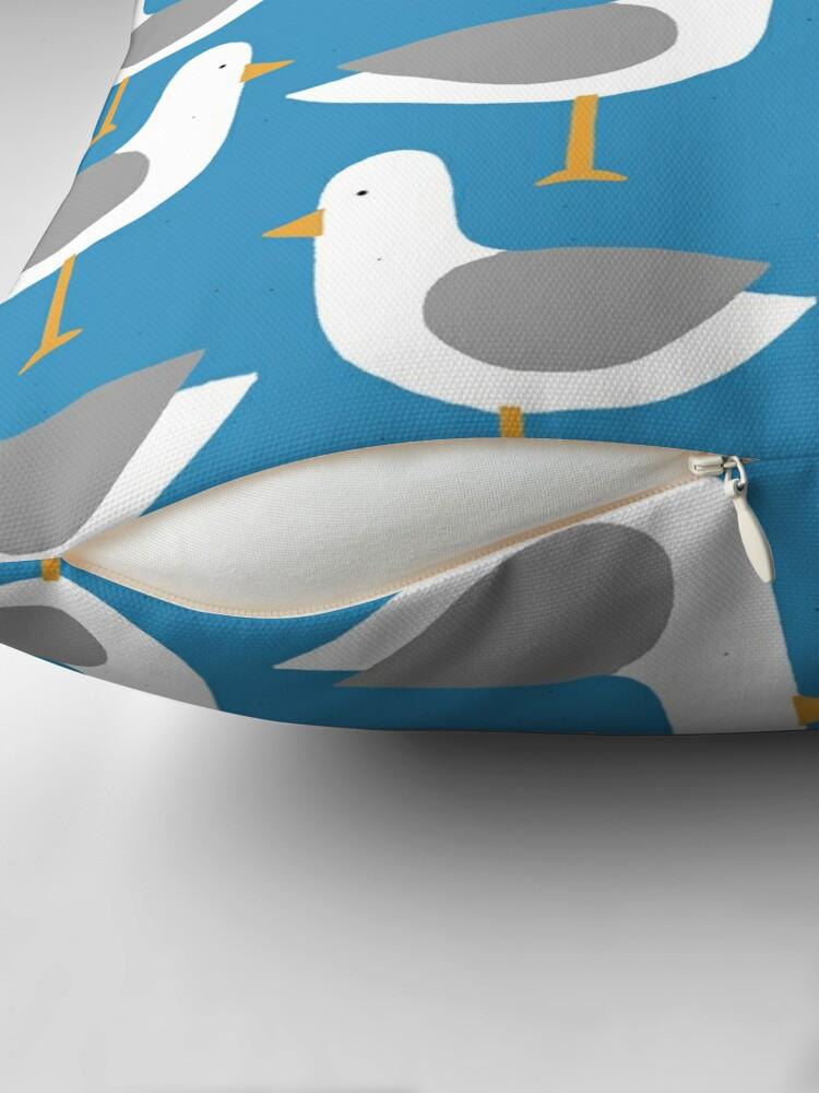 Alternate view of Seagull 7.0 Throw Pillow