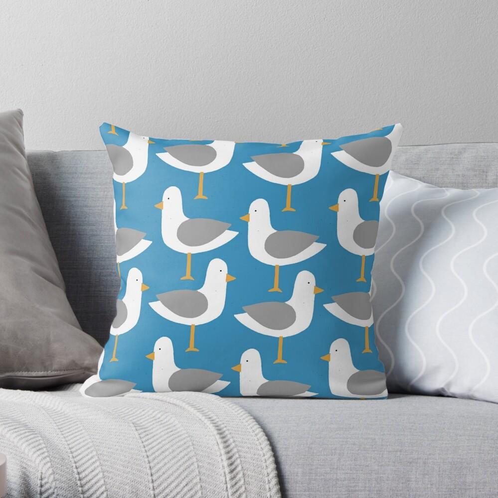 Seagull 7.0 Throw Pillow