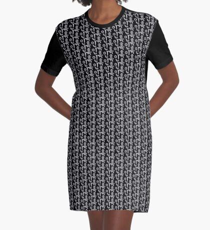 Blasian (Korean) Third Culture Series Graphic T-Shirt Dress