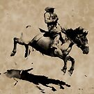 Bronco Rider  - Rodeo Cowboy by NaturePrints