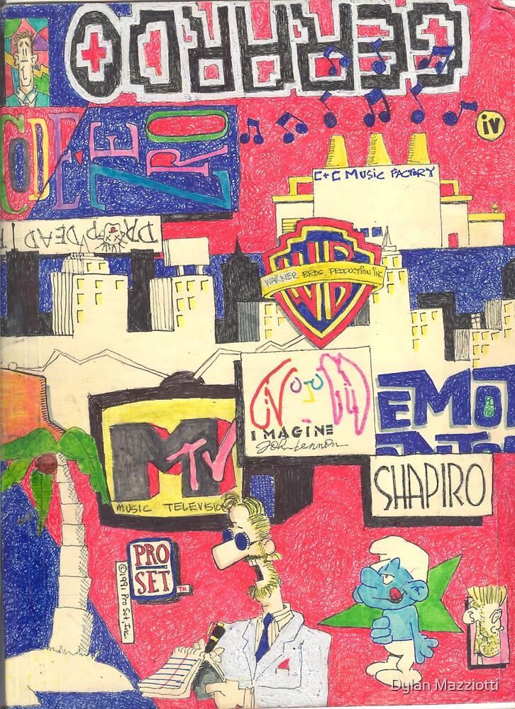 Folder 004 - Front by Dylan Mazziotti