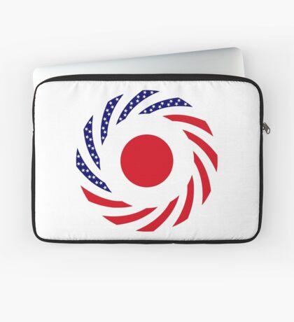 Japanese American Multinational Patriot Flag Series Laptop Sleeve