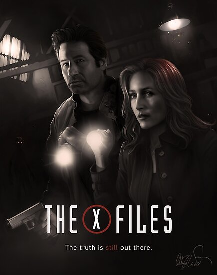 The X-files Poster s11 n°2 by Chimerart