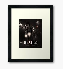 The X-files Poster s11 n°2 Framed Print