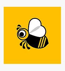 Bee graphic Photographic Print