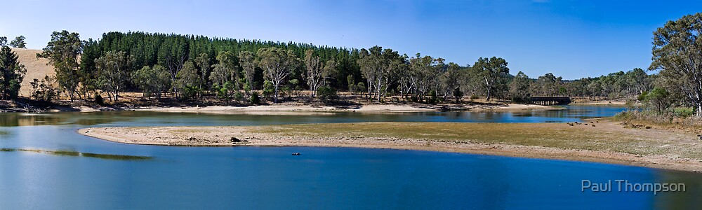 Warren Reservoir Panorama by Paul Thompson