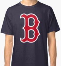 Boston Red Sox Logo Blue Classic T-Shirt