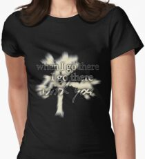 u2 joshua tree if I go there Womens Fitted T-Shirt