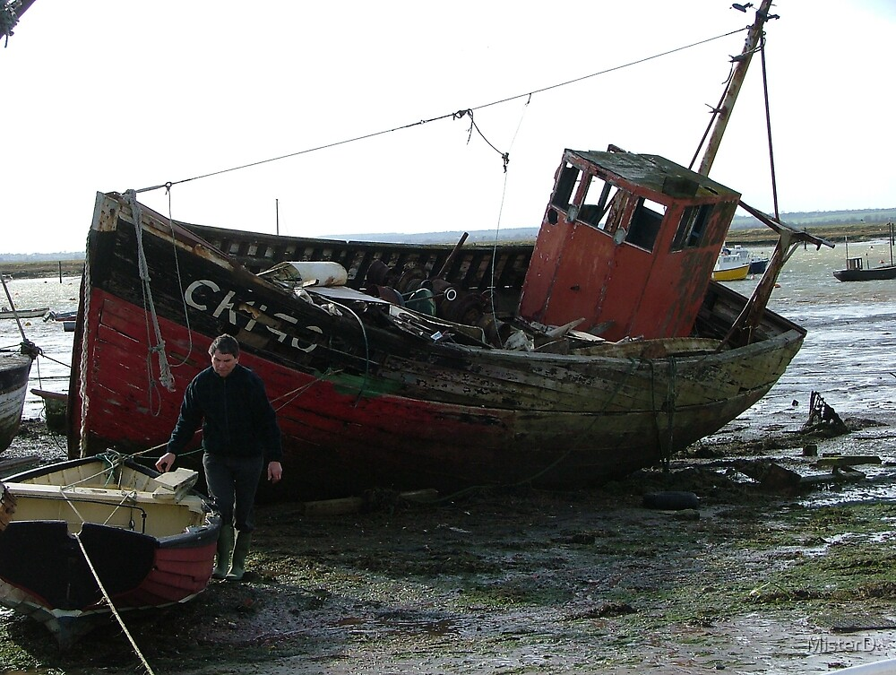 Abandoned trawler by MisterD