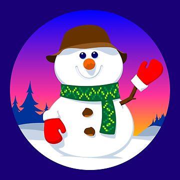 Snowman by tudi