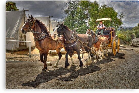 0661 The Coach Ride 2  by Hans Kawitzki