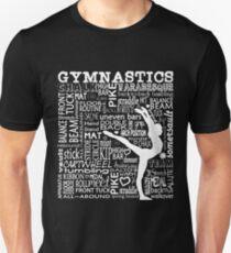 Gymnastics Typography Shirt T-Shirt