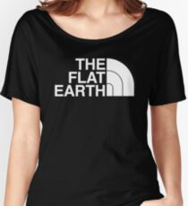The Flat Earth Women's Relaxed Fit T-Shirt