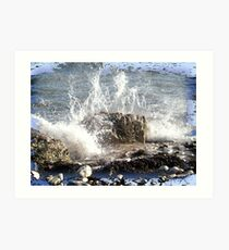 Crashing Wave Art Print