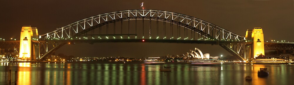 Sydney harbour bridge by yas74