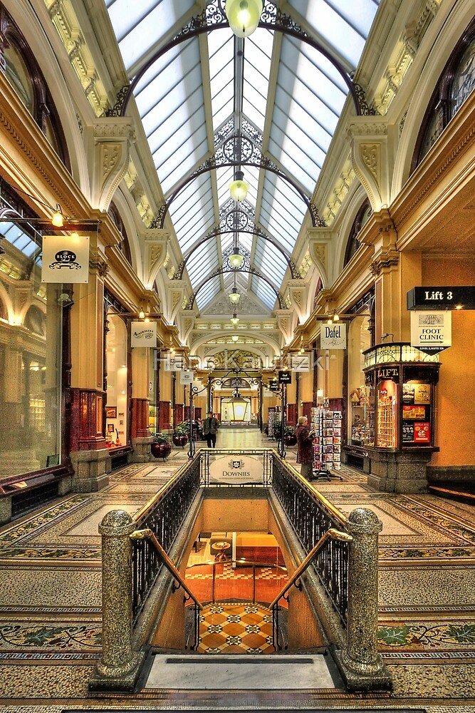 0669 The Block Arcade 2 - Melbourne by Hans Kawitzki