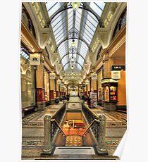 0669 The Block Arcade 2 - Melbourne Poster