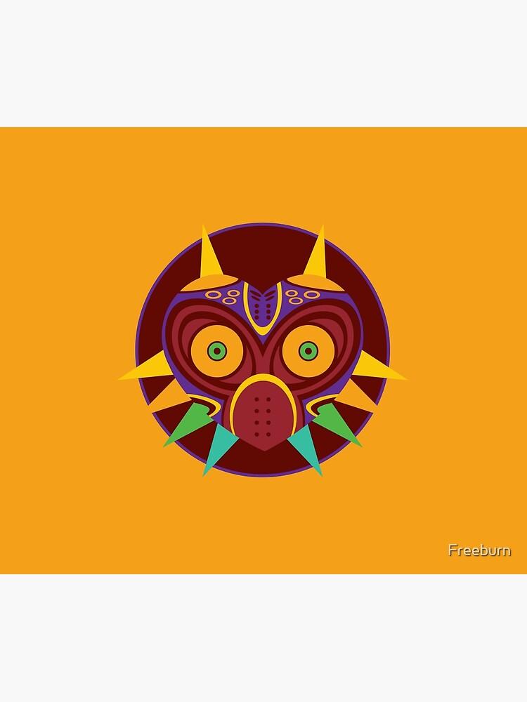 The legend of zelda majora's mask vector   Duvet Cover