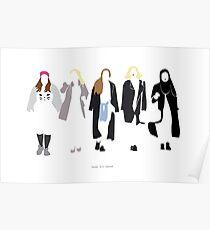 SKAM Girl Squad standing ver. Poster