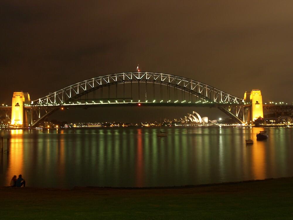 Sydney harbour bridge by yas74