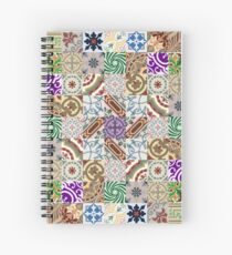 Cement tiling Spiral Notebook