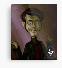 Creepy Dude Metal Print