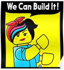 we can build it teefury Poster