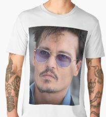 Cool Johnny Depp Men's Premium T-Shirt