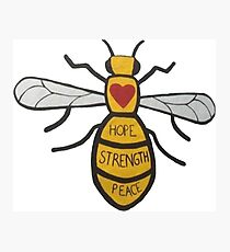peace, hope, strenght Photographic Print