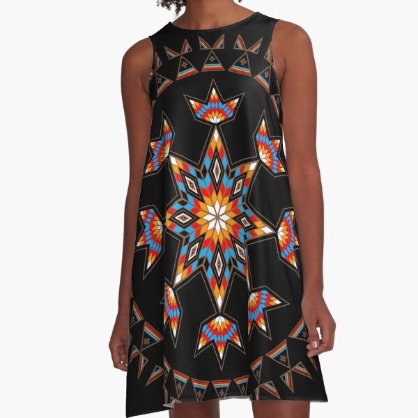 Morning Star A-Line Dress