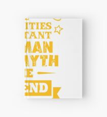 ACTIVITIES ASSISTANT THE MAN THE MYTH THE LEGEND Hardcover Journal