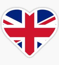Great Britain United Kingdom Love Sticker