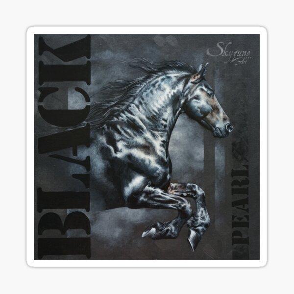 BLACK PEARL by Skyzune ART Sticker