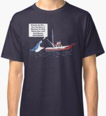 Excuse me Sir. Funny Shark tshirt Classic T-Shirt