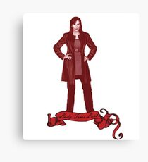 Lady Time Lord (Donna) Canvas Print