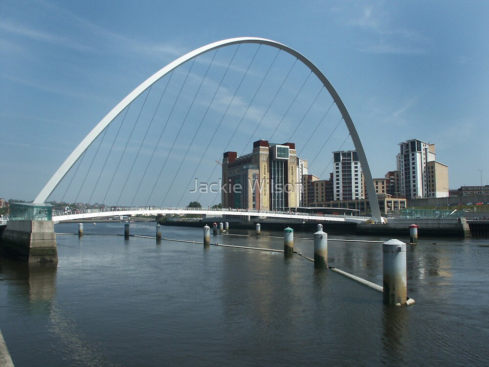 Millenium Bridge and Baltic Newcastle by Jackie Wilson