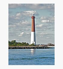 Barnegat Lighthouse - Barnegat NJ Photographic Print
