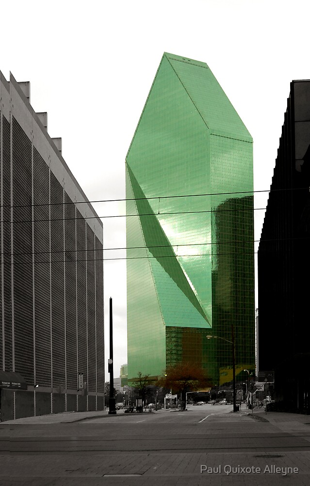 THE GLASS TOWER by Paul Quixote Alleyne