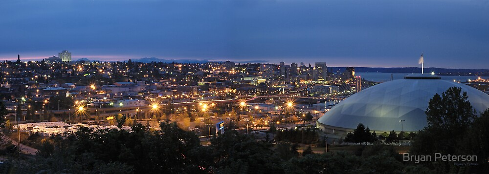 Tacoma at Night by Bryan Peterson