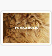 Funkaholic Sticker