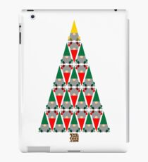 Elf Xmas Tree iPad Case/Skin