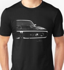 1972 dodge charger, black shirt Unisex T-Shirt