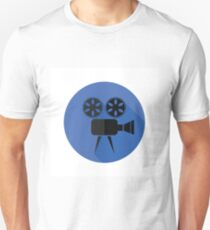 Movie projector flat icon T-Shirt