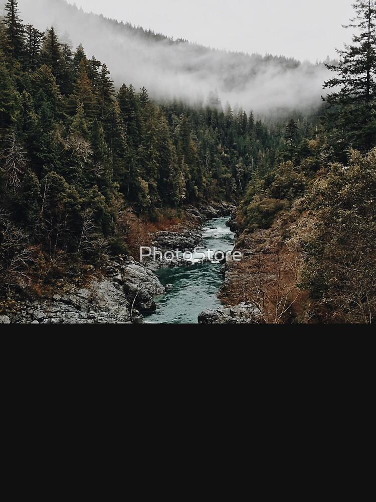 Fluss im Wald von PhotoStore
