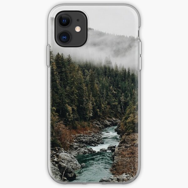 River in the Forest iPhone Soft Case